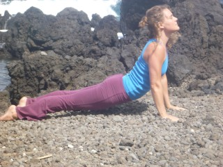 Hawaii Yoga Retreat Upward Dog