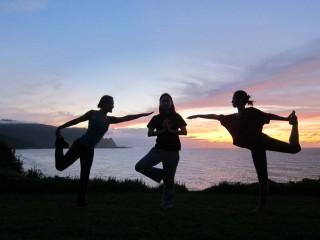 Hawaii Sunset Yoga Challenge