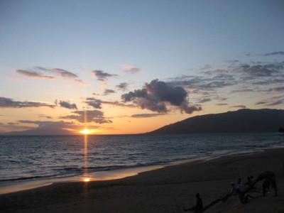 Maui Retreat Sunset