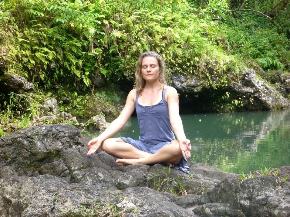 Hawaii Waterfall Meditation