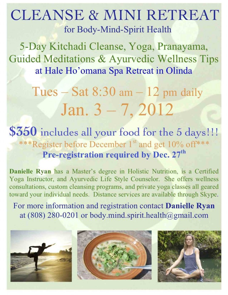 Jan 2012 Mini Retreat Flyer
