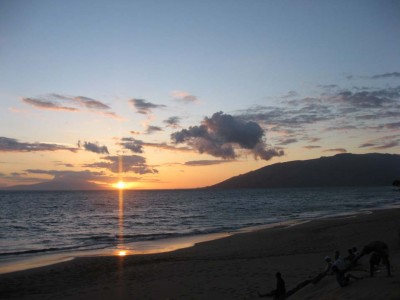 Maui Retreat Sunset
